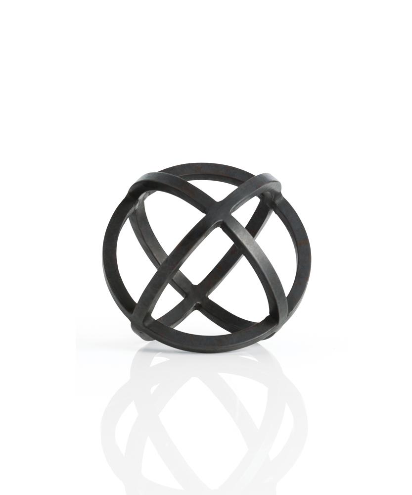 Iron Sphere Sculpture