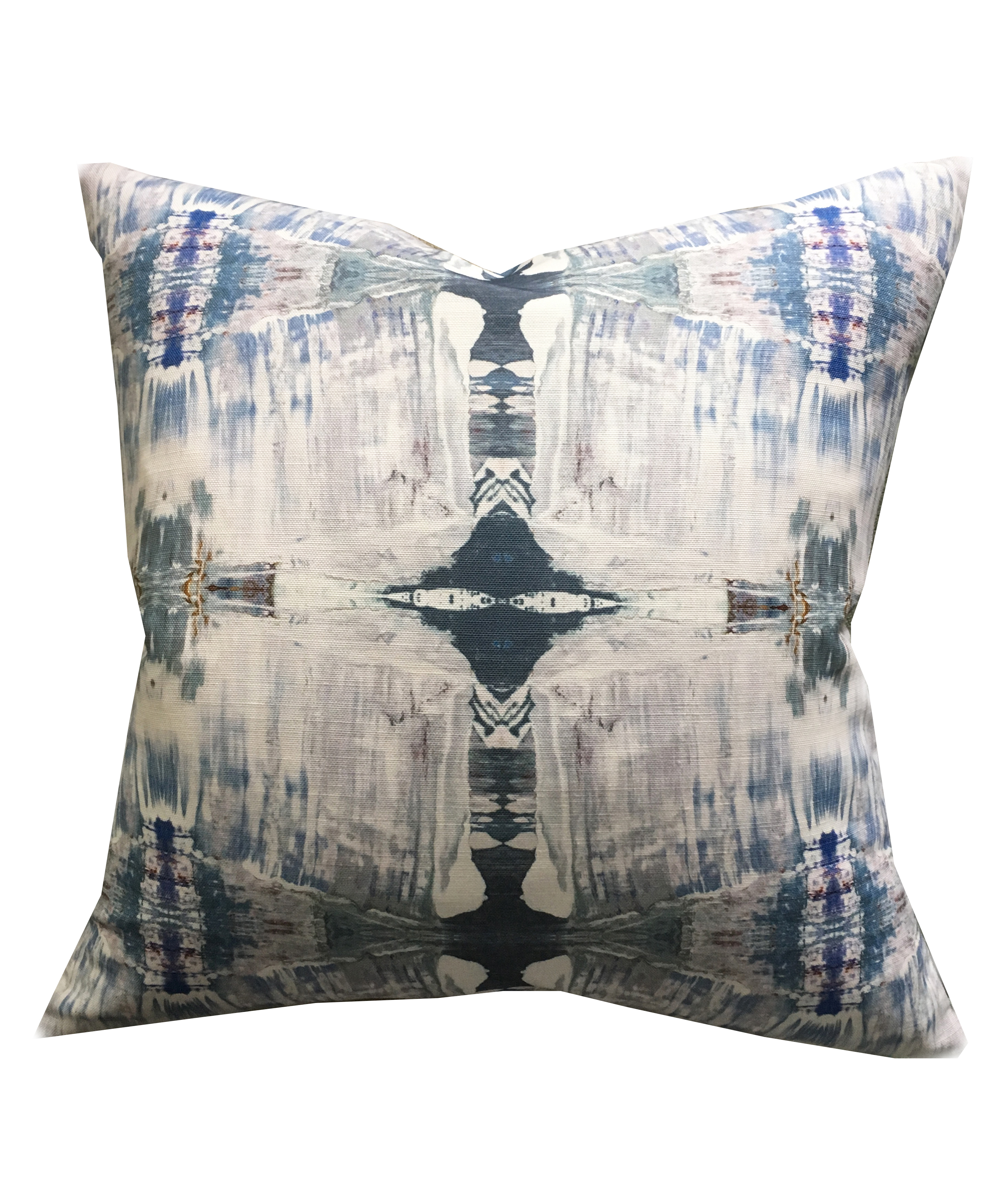 Abstract Lavender Grey Pillow