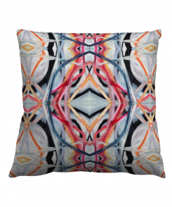 Abstract Pink Pillow