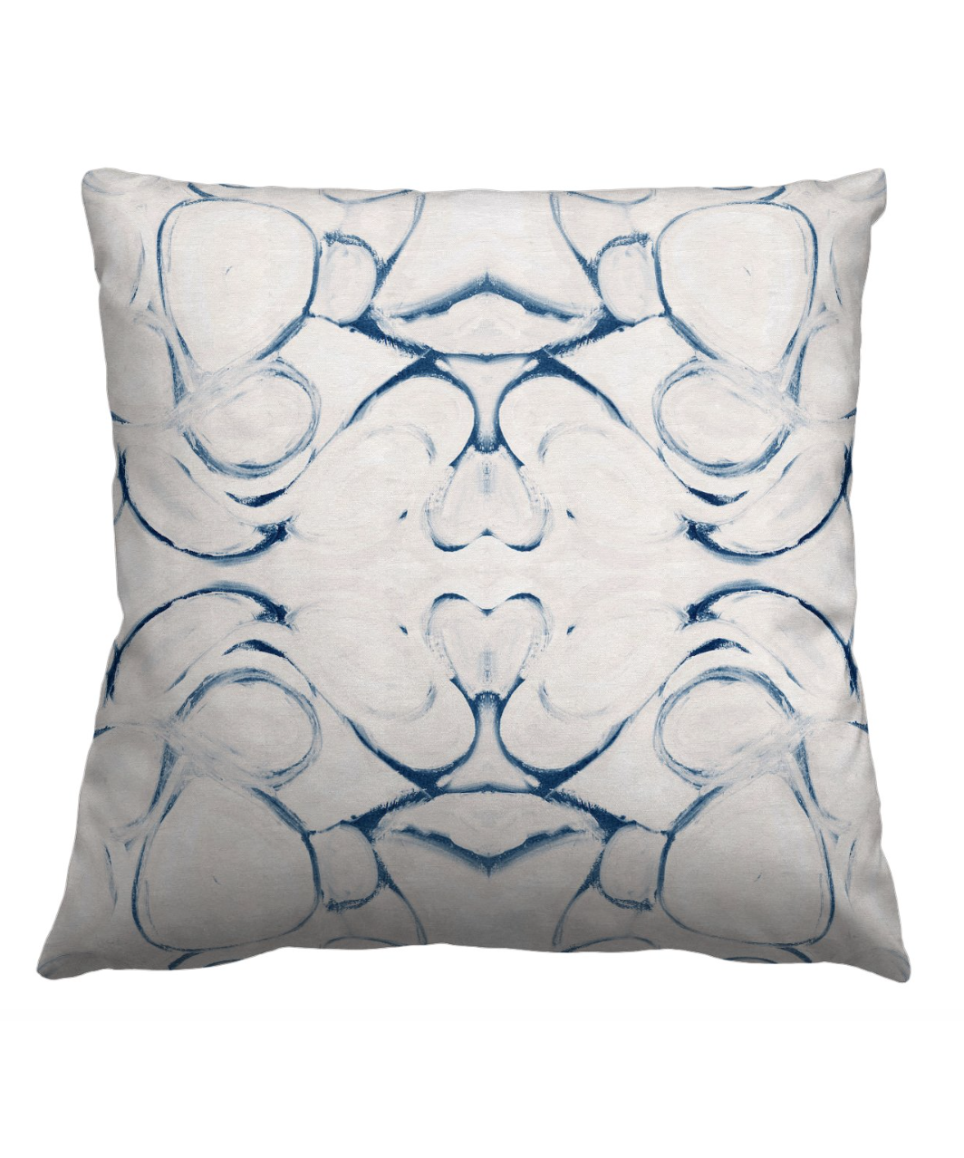 Abstract Blue Pillow
