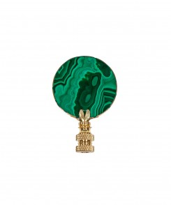Malachite Finial