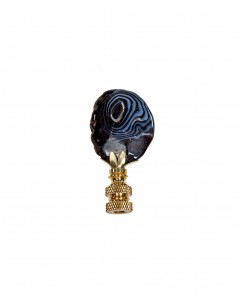 Black In Black Finial