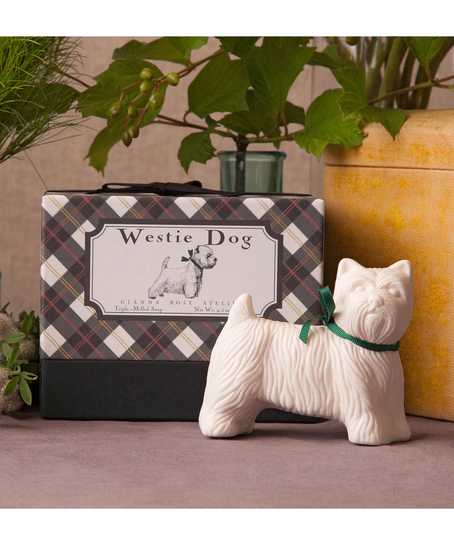 Westie Dog Soap