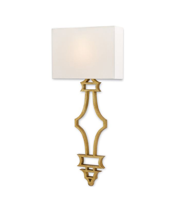 Antique Gold Leaf Sconce