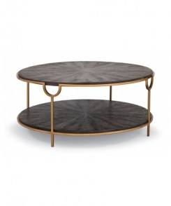 Brown Faux Snake Cocktail Table
