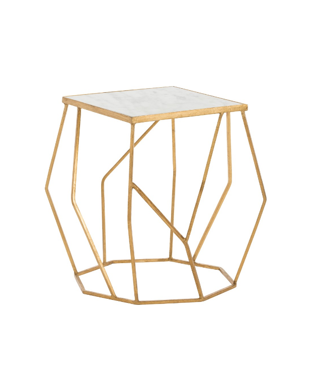 Free-Form Octagonal Side Table