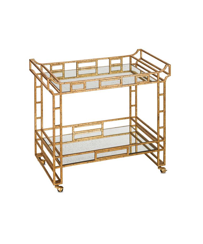 Fretwork Bar Cart
