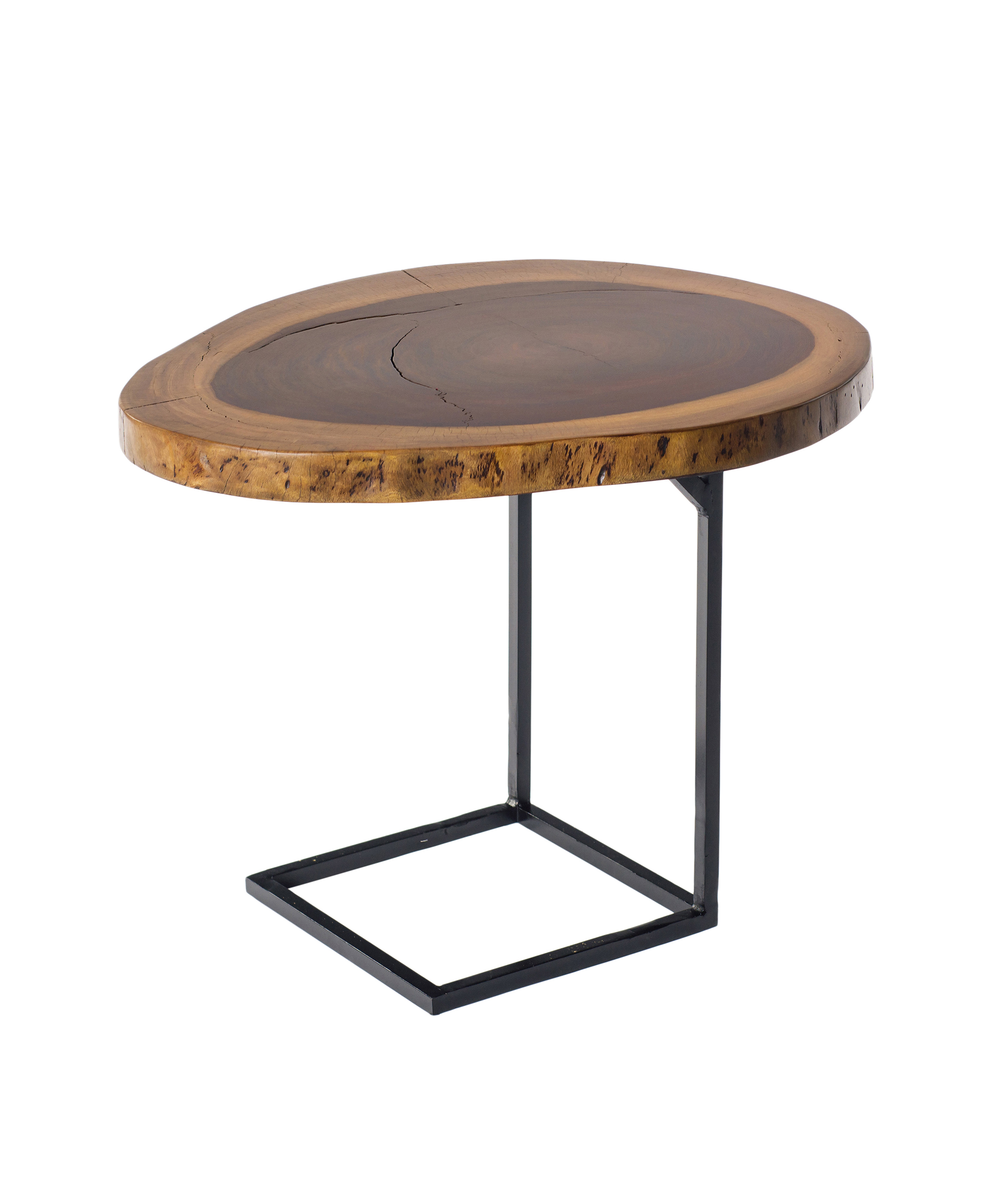 Superieur Live Edge Side Table