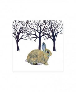 Winter Rabbit Cocktail Napkins