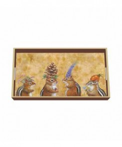 Chipmunk Social Tray