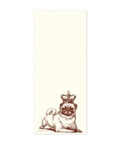 Royal Pug Notepad