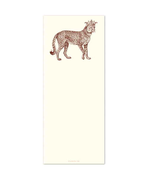 Royal Cheetah Notepad