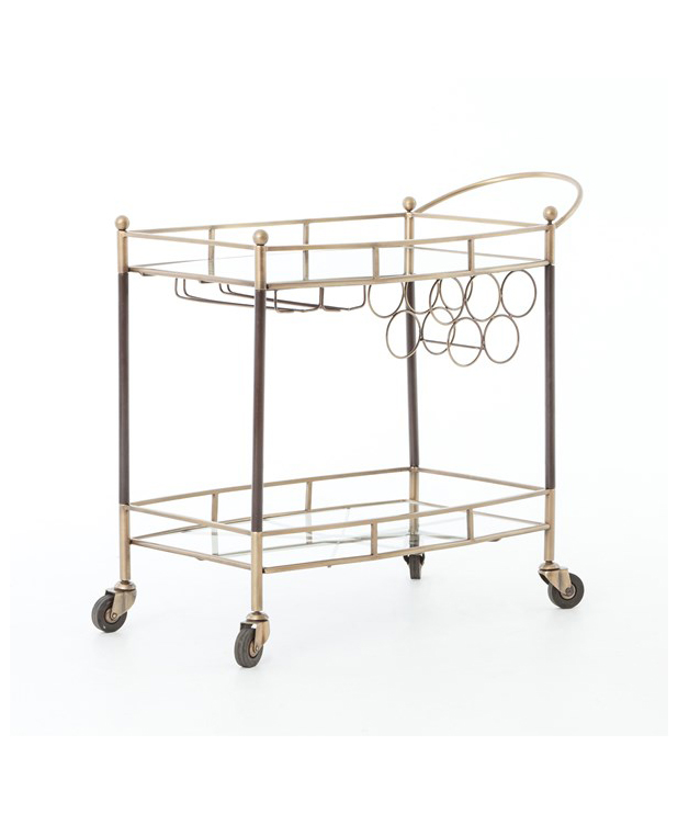 Deco Inspired Bar Cart