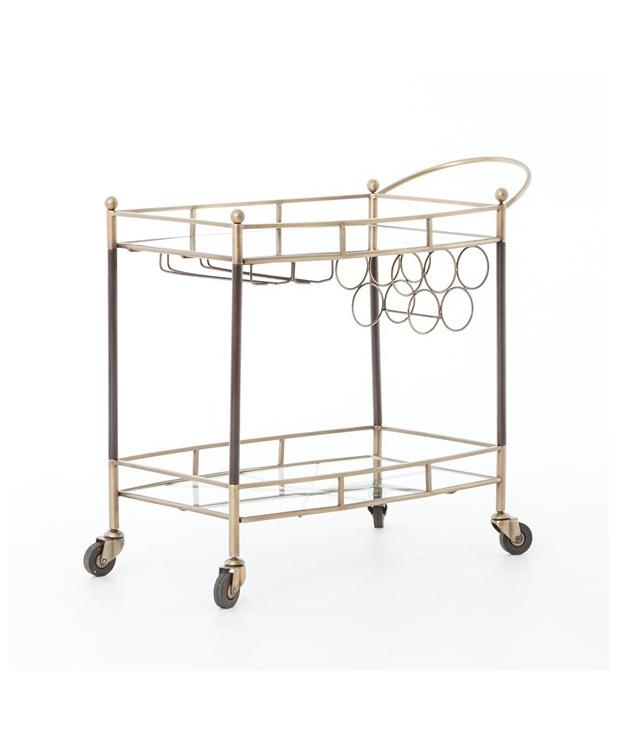 Deco Inspired Bar Cart