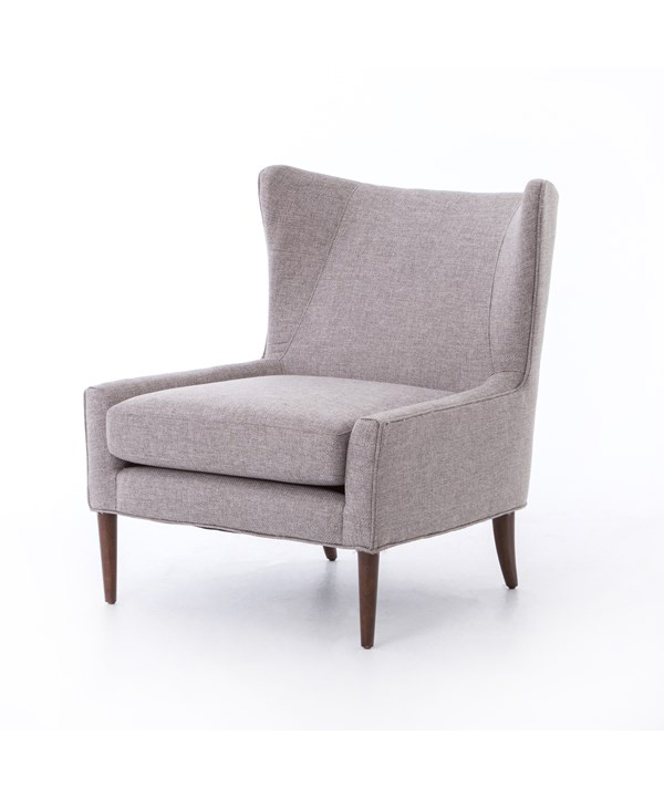 Mid-Century Modern Wing Chair