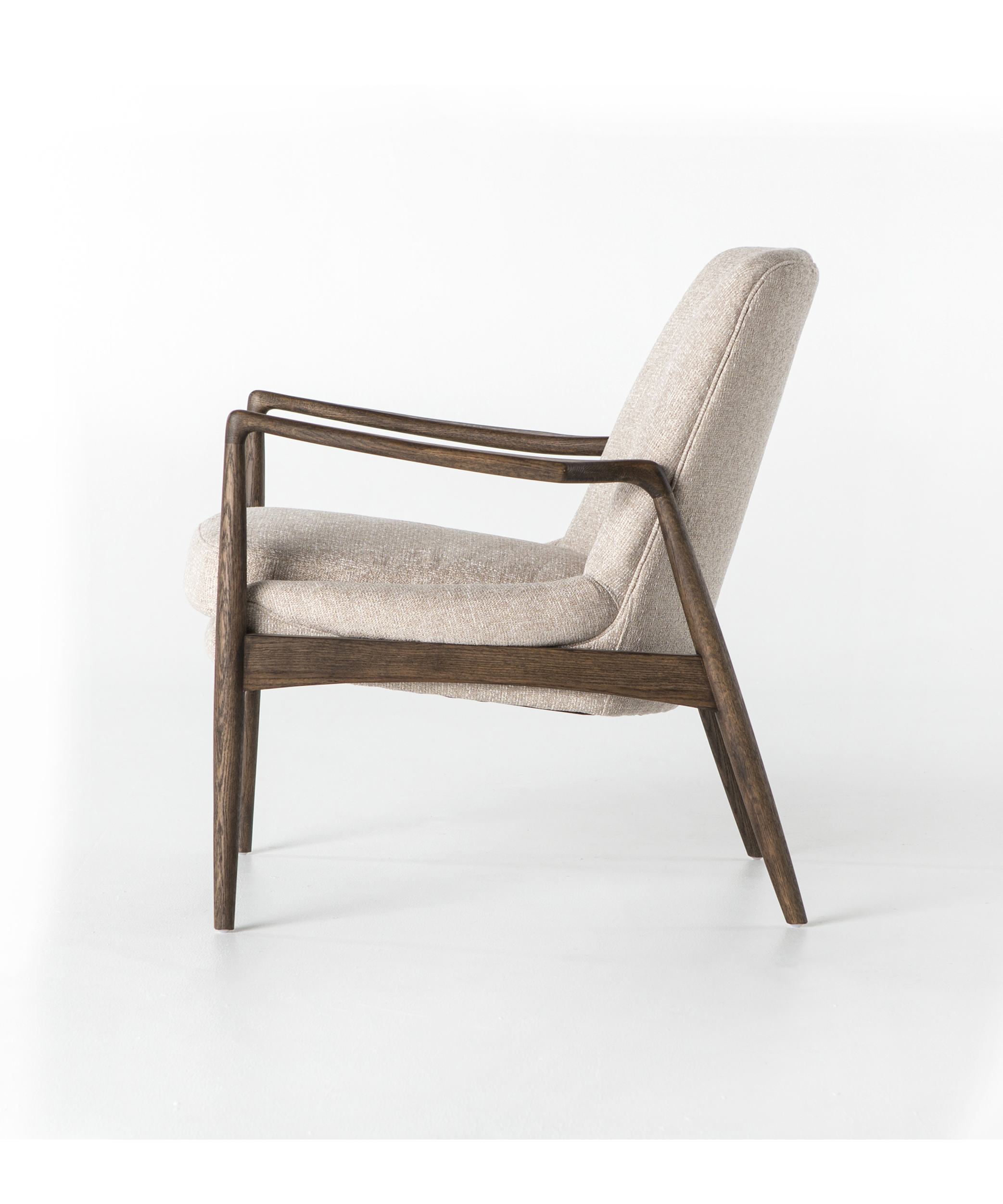 Mid Century-Modern Camel Chair