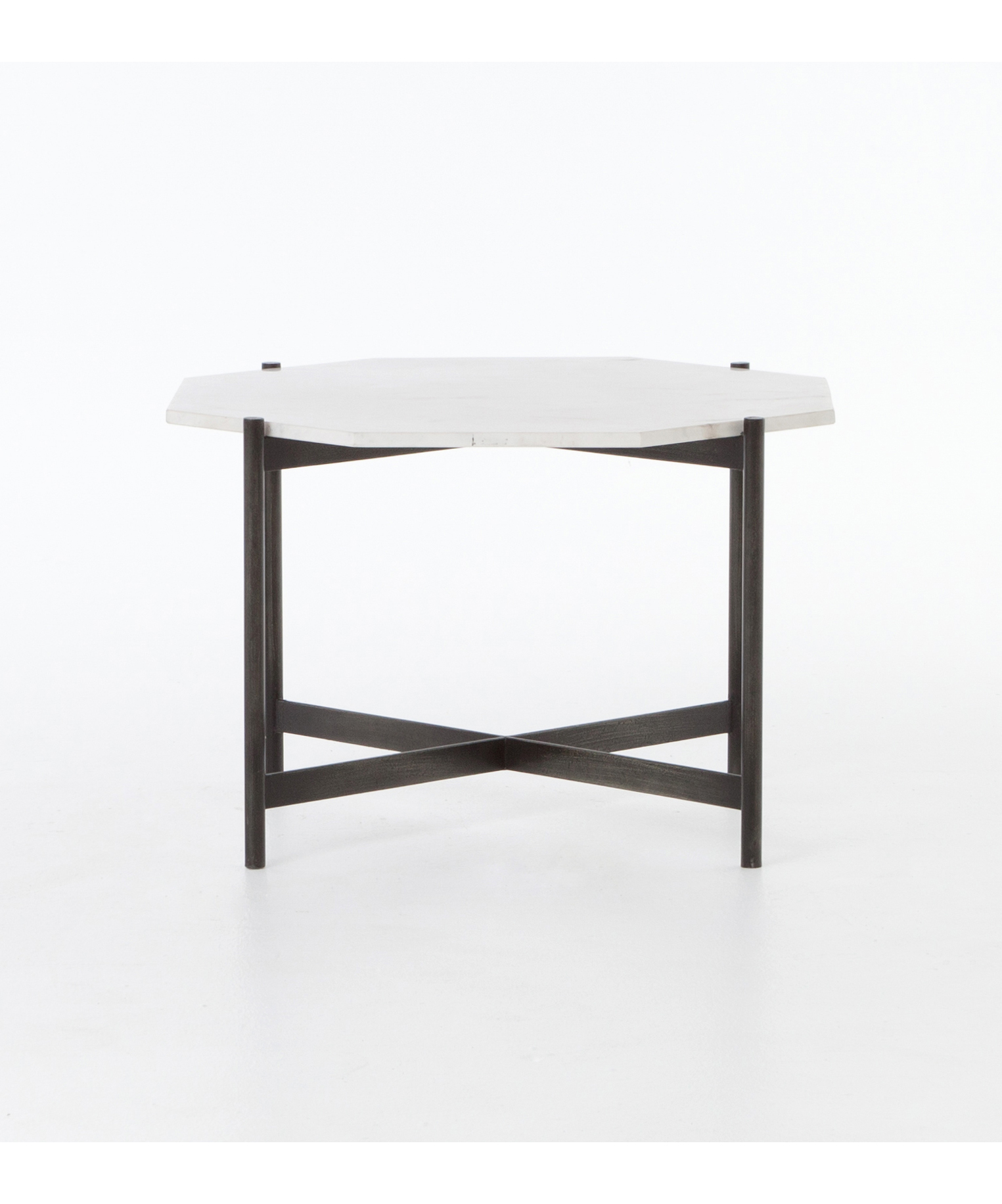 Octagonal Marble Accent Table