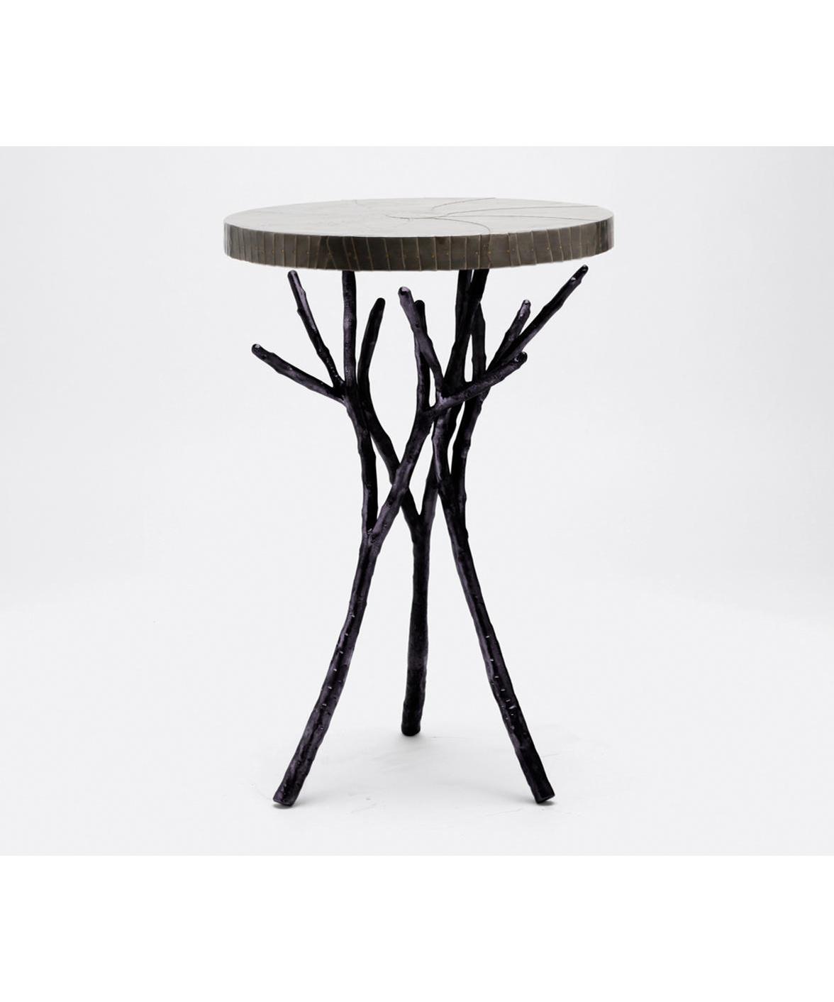 Twig Branch Side Table Black