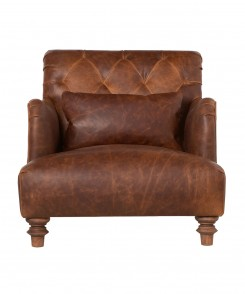 Acacia Leather Chair