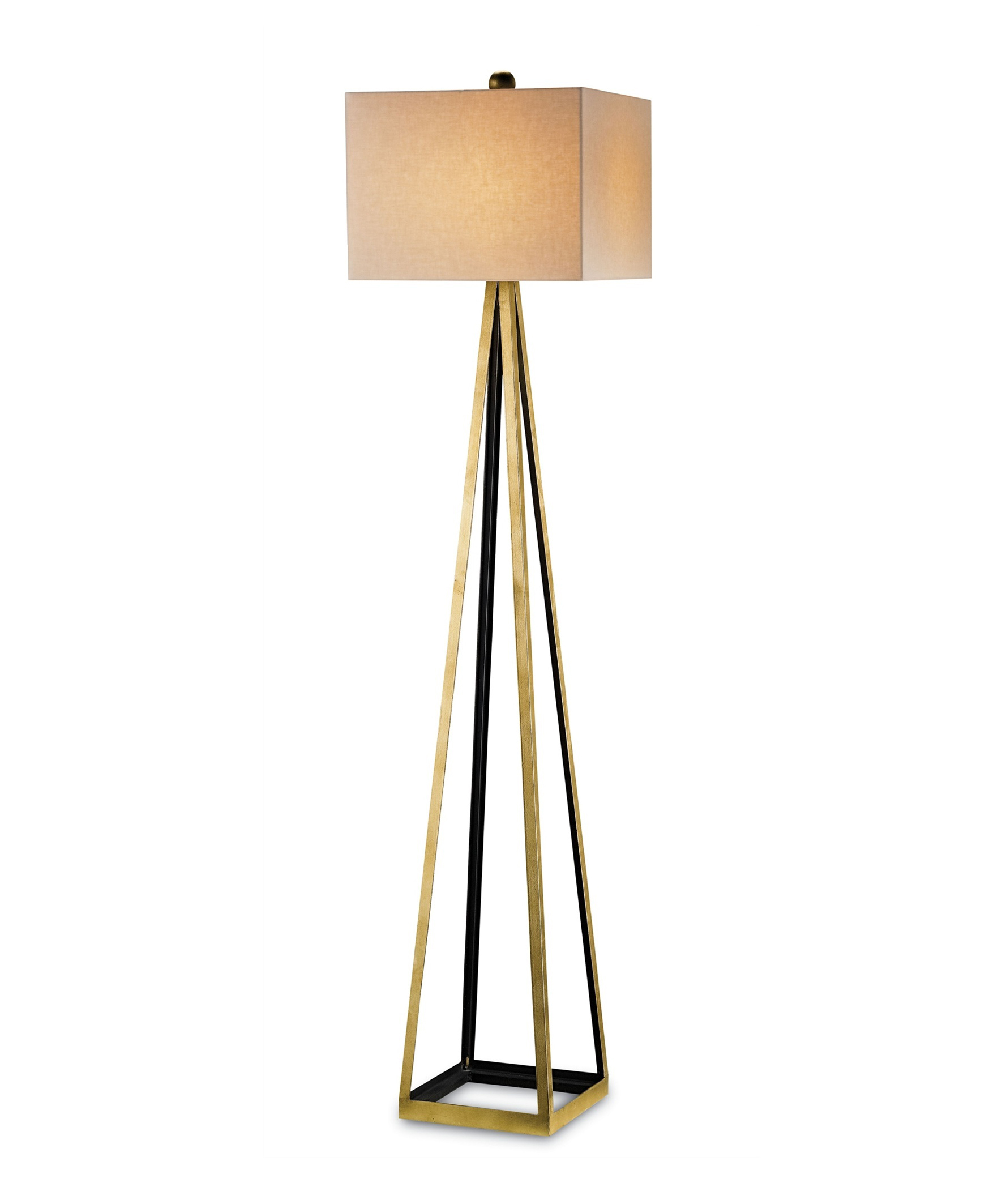 Aiken Floor Lamp Gold