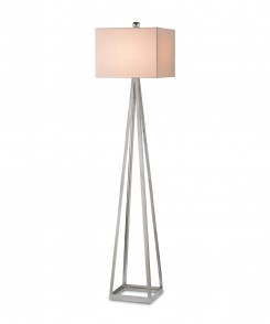 Aiken Floor Lamp Silver