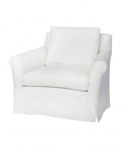 Beverly Slipcovered Chair