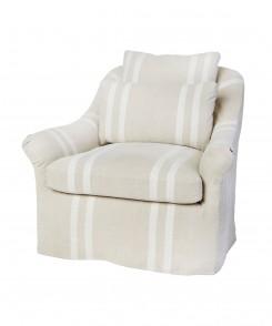 Genevieve Slipcovered Chair