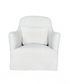 Hazel Mini Slipcovered Chair
