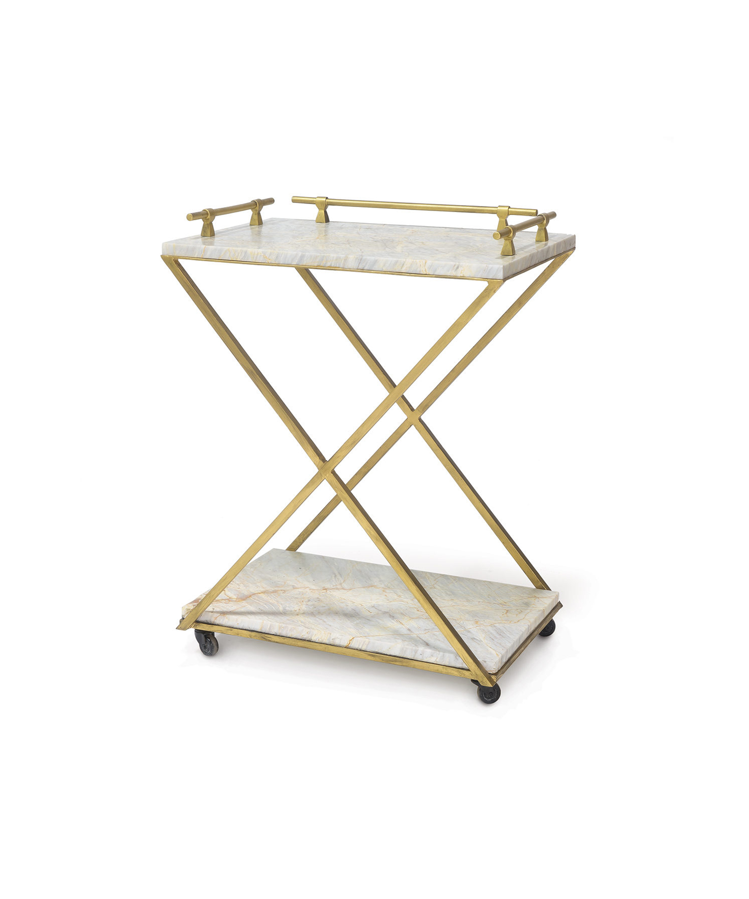 Natural Marble Bar Cart