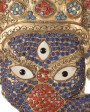 Indonesian Jeweled Masks, Set of Three