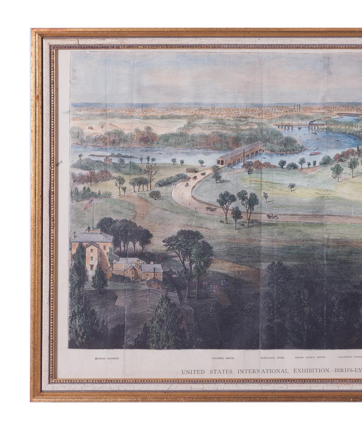 Philadelphia Centennial Print