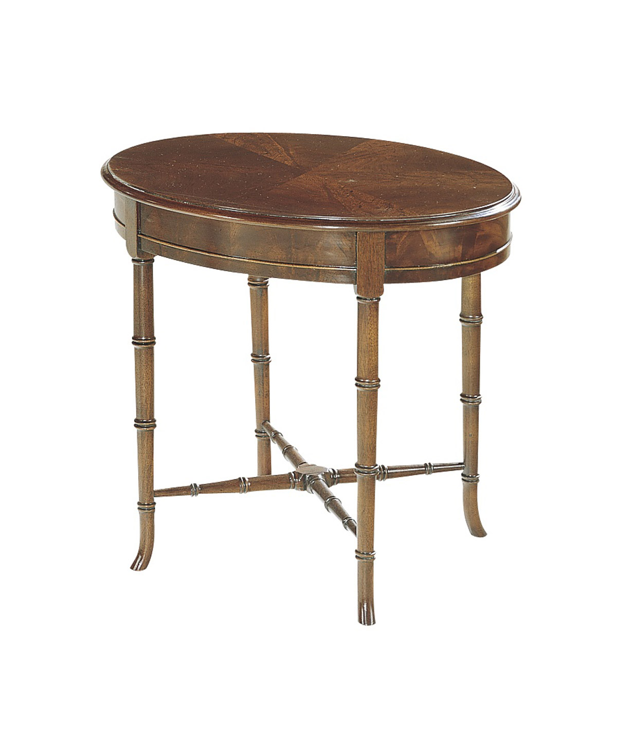 Oval Regency Accessory Table