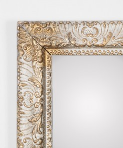 Vintage Carved Mirror