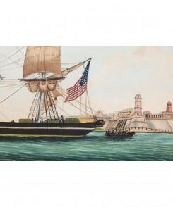 """Huntress"" N.J. Ship"