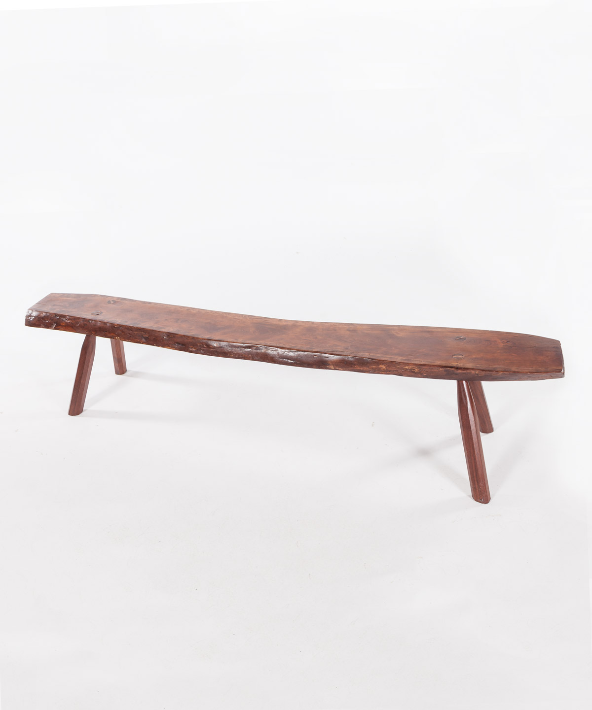 Artisan Natural Wood Bench