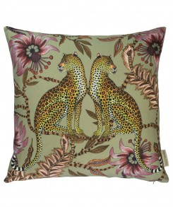 Leopard_Pillow_Green