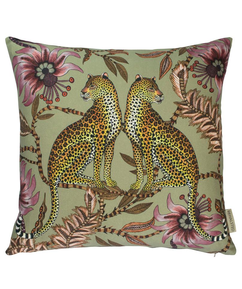 Leopard_Pillow_Green