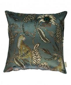 Leopard_Velvet_Pillow_Grey