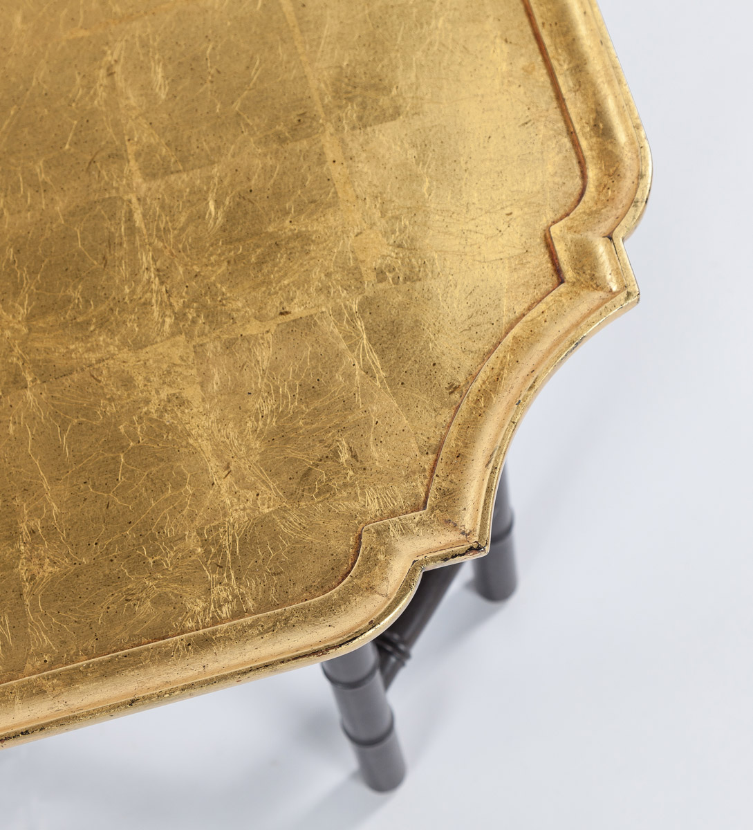 Bamboo Gold Leaf Cocktail Table