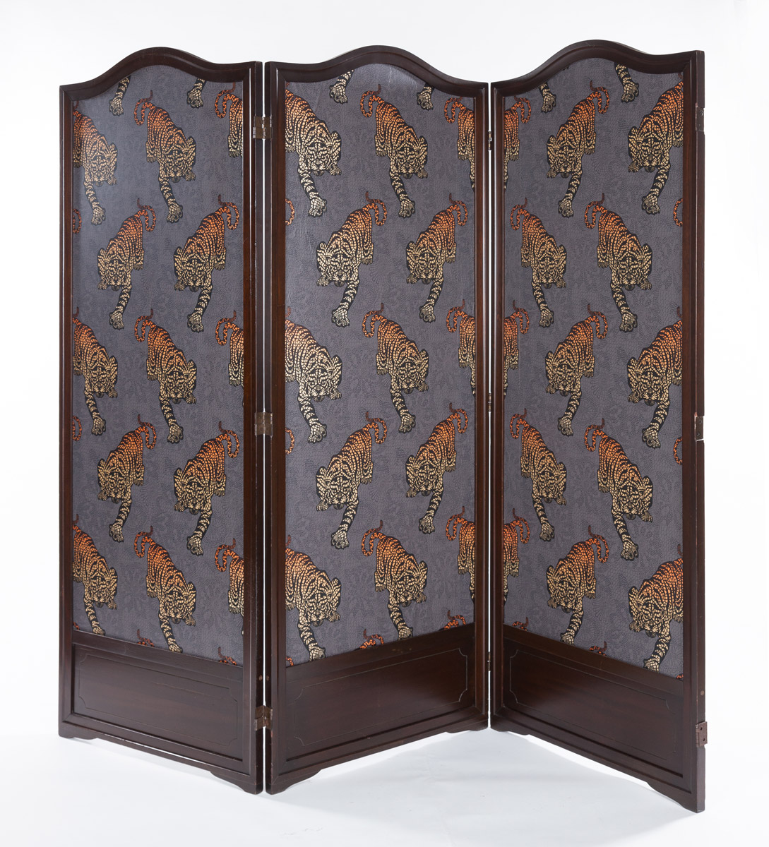 3 Panel Screen with Tigers