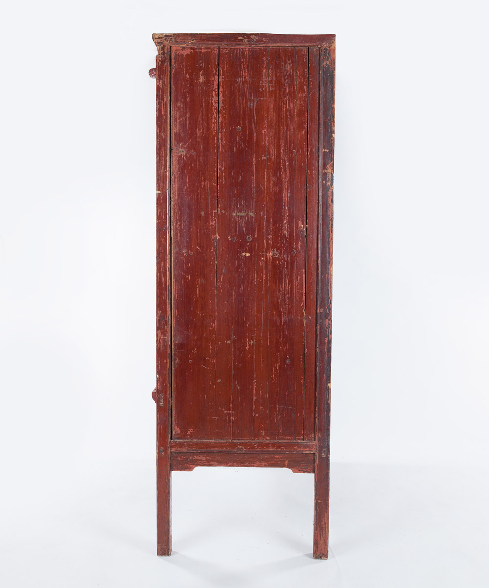 Antique Chinese Wardrobes, Set of Two