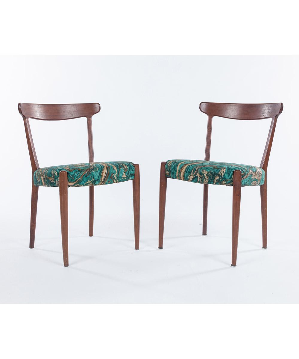 Skaraborgs Mid-Century Modern Chairs, Set of Two