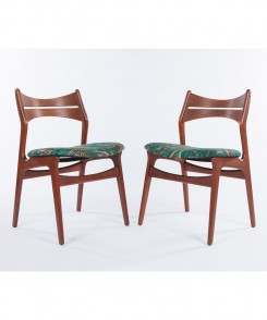 Mid-Century Modern Chairs, Set of Two